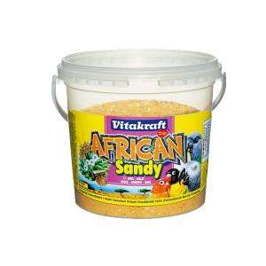 Arena Sandy loros africanos Vitakraft